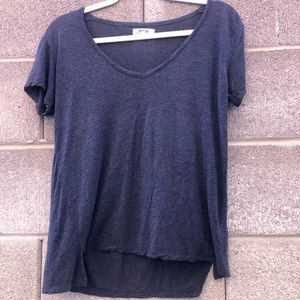 Madewell, basic v neck tee, size small, great cond